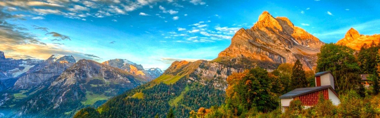 Switzerland Mountains Slider Image